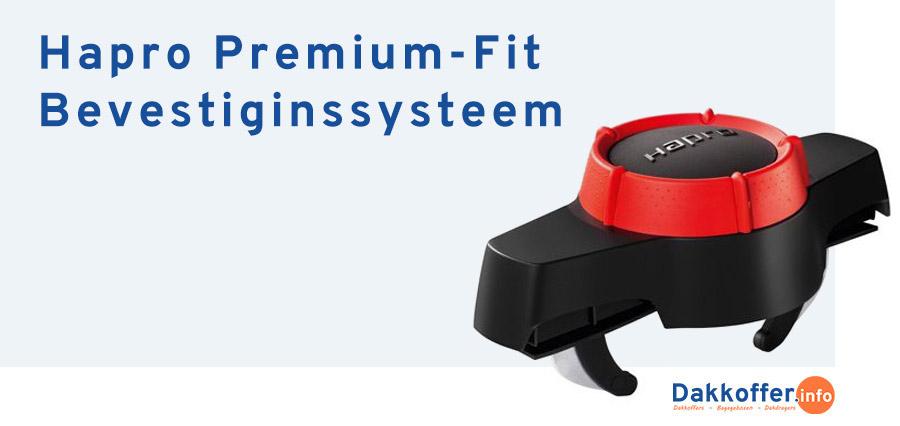 Hapro Premium-Fit Bevestigingssysteem