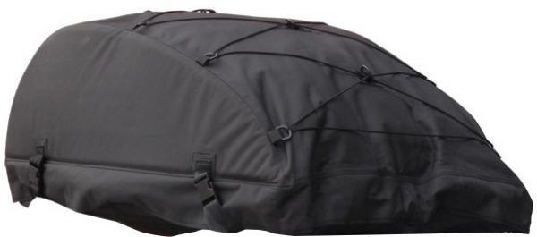 AutoStyle opvouwbare daktas zwart 320 liter Dakkoffers