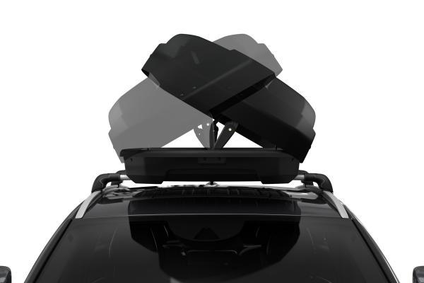 Thule Force XT Alpine Black Aeroskin
