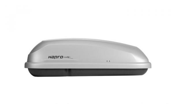 Hapro Roady 350 Zilver Dakkoffers