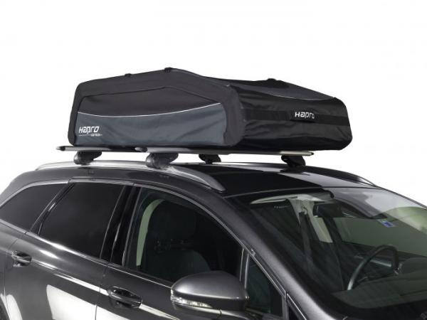 Hapro Softbox 570 Liter zwart – opvouwbare dakkoffer