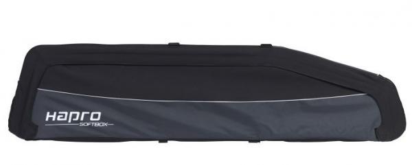 Hapro Softbox 570 Liter zwart – opvouwbare dakkoffer Dakkoffers